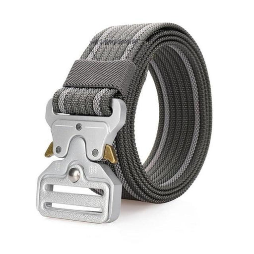 Nylon Army Combat Tactical Training Men's Casual Belt with Metal Buckle - SolaceConnect.com