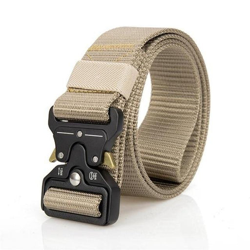 Nylon Metal Buckle Army Combat Tactical Training Men's Casual Belt - SolaceConnect.com