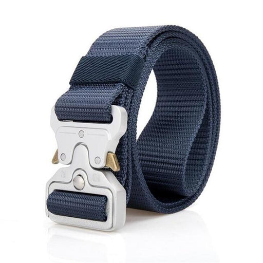 Nylon Metal Buckle Military Combat Tactical Training Men's Casual Belt - SolaceConnect.com