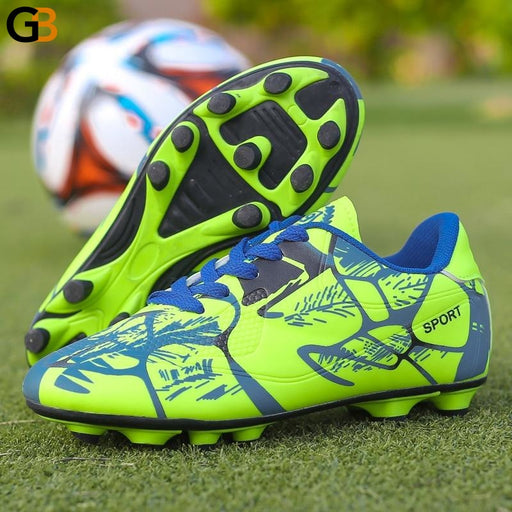 Football Shoes Men's Indoor Athletic Spikes Turf Football Cleat Shoes - SolaceConnect.com
