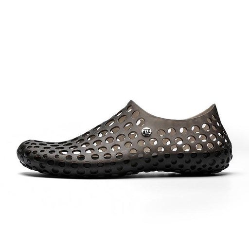 Men's Summer Breathable Outdoor Hollow Barefoot Beach Water Sandals - SolaceConnect.com