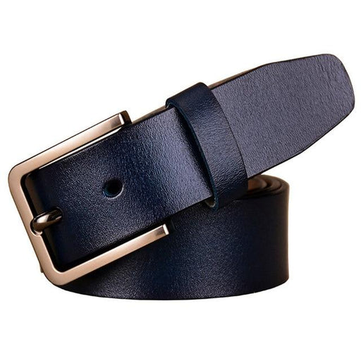 Fashion genuine leather belts for women Luxury pin buckle belt female second layer cow skin strap - SolaceConnect.com