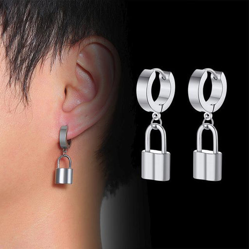 Stainless Steel Stylish Punk Drop Dangle Earrings for Men and Women - SolaceConnect.com