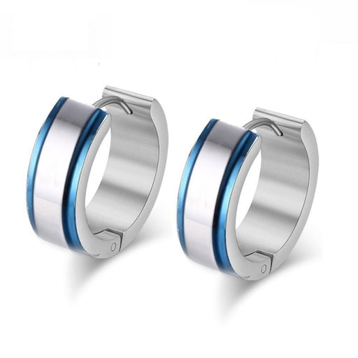 Small Stainless Steel Hoop Earring Stainless Steel Earings for Women Men - SolaceConnect.com