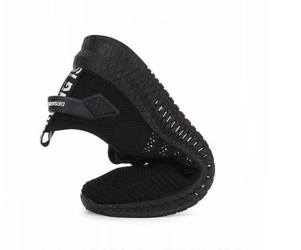 Mesh Men Sneakers Casual Shoes Lac-up Men Shoes Lightweight Comfortable Breathable Walking - SolaceConnect.com
