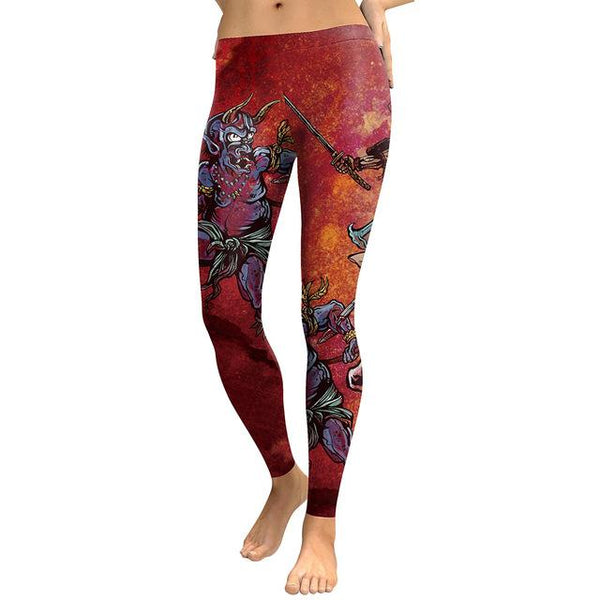 Flowers Print Slim Fit Fitness Pants and Women's Leggings for Workout - SolaceConnect.com