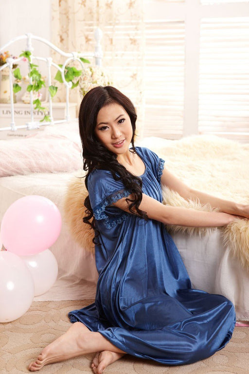 Sexy Womens Casual Chemise Nightie Nightwear Lingerie Nightdress Sleepwear Dress - SolaceConnect.com