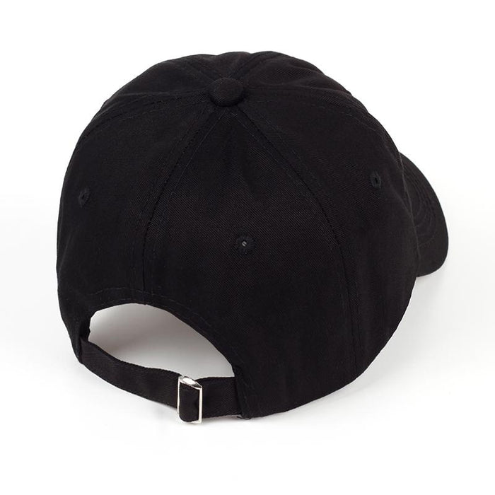 Black Sad Boys Crying Face Adjustable Harajuku Unisex Baseball Caps - SolaceConnect.com