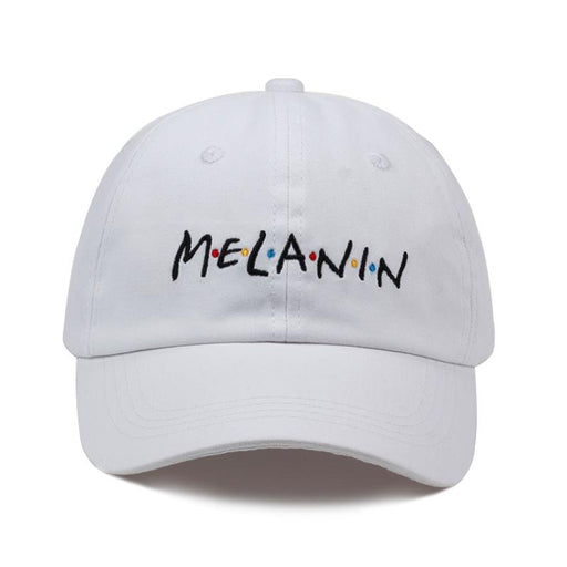 MELANIN letter embroidery baseball cap women men snapback hat adjustable men women fashion Dad hats - SolaceConnect.com
