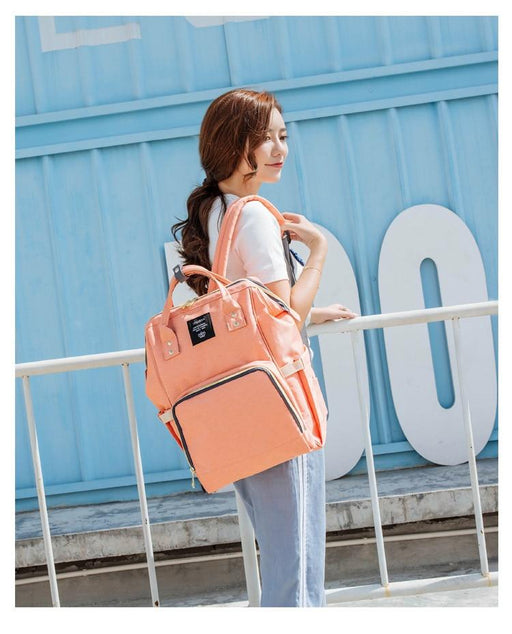 Fashion Large Capacity Baby Bag Travel Backpack Designer Nursing Bag for Baby Mom Backpack Women - SolaceConnect.com