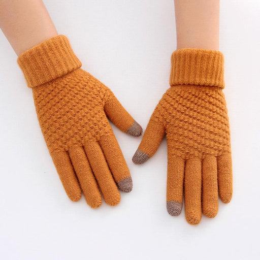 Women Gloves Winter Touch Screen Handschoenen Black Gloves Guantes Mujer Promotion Hiver Femme - SolaceConnect.com