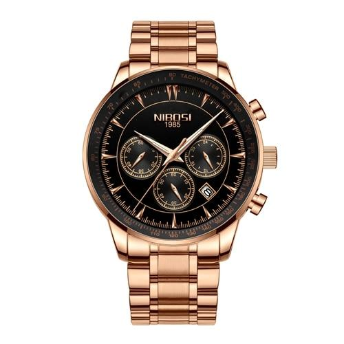 Gold Watch Mens Watches Top Brand Luxury Sport Quartz Clock Waterproof Military Wrist Watch Men - SolaceConnect.com
