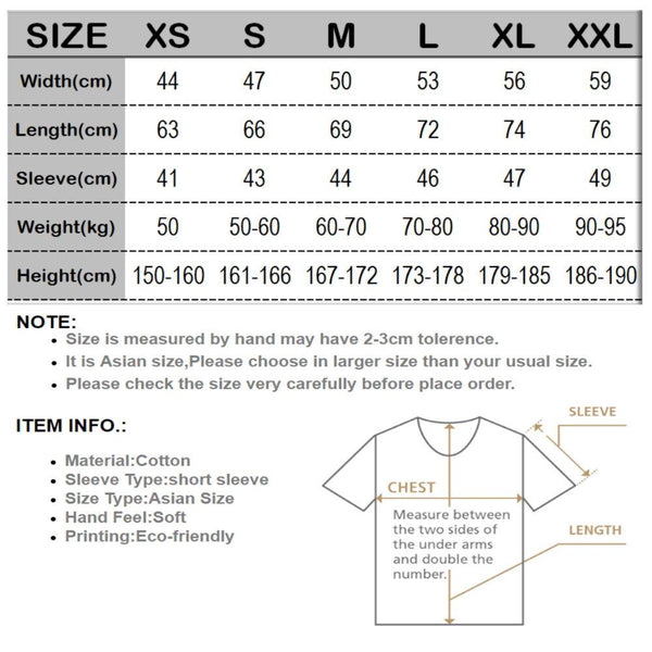 Men's Casual Funny Cotton O Neck Loose T-shirt with Short Sleeves - SolaceConnect.com