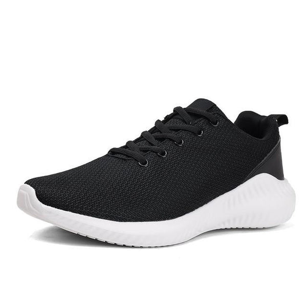 Men's Breathable Lightweight Athletic Running Training Shoes Mesh Footwear - SolaceConnect.com