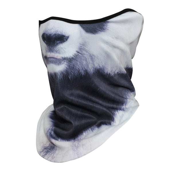 Unisex Halloween 3D Dog Animal Bicycle Winter Scarf Neck Warmer Headband - SolaceConnect.com
