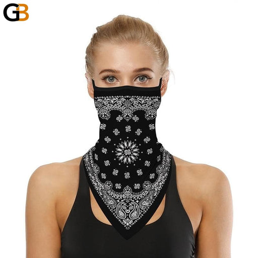Ladies Multi-Functional Seamless Quick Dry Outdoor Head Face Cover Scarves - SolaceConnect.com