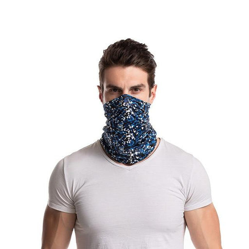 Unisex Microfiber Polyester Magic Snood Versatility Caps Neckerchief Scarf - SolaceConnect.com