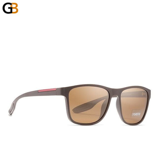 Men's Tr90 Soft Matte Titanium Polarized Anti-Reflective Sunglasses - SolaceConnect.com
