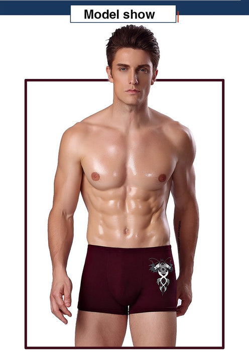 Men's Sexy Mid-waist Breathable M L XL Hombre Boxer Shorts Underwear - SolaceConnect.com