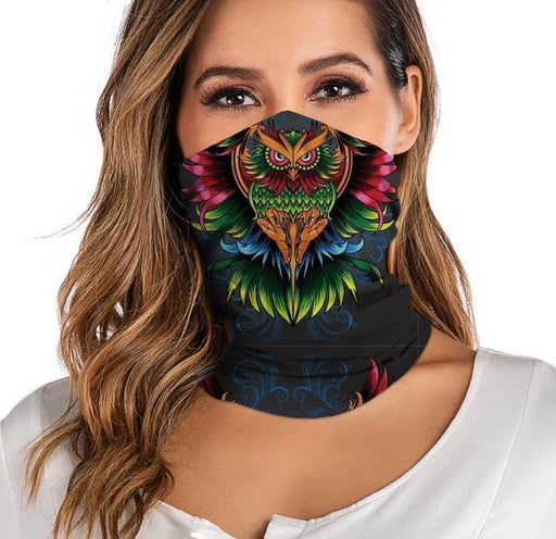 Unisex Dustproof Motorcycle Facemask Bandana Neck Gaiter Tube Headwear - SolaceConnect.com
