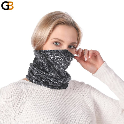 Women's High Elasticity Anti Dust Windproof Hiking Neck Headband Scarf - SolaceConnect.com
