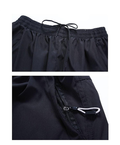 Men's Sportswear Quick Dry Breathable Sweatpants for Outdoors & Exercise - SolaceConnect.com