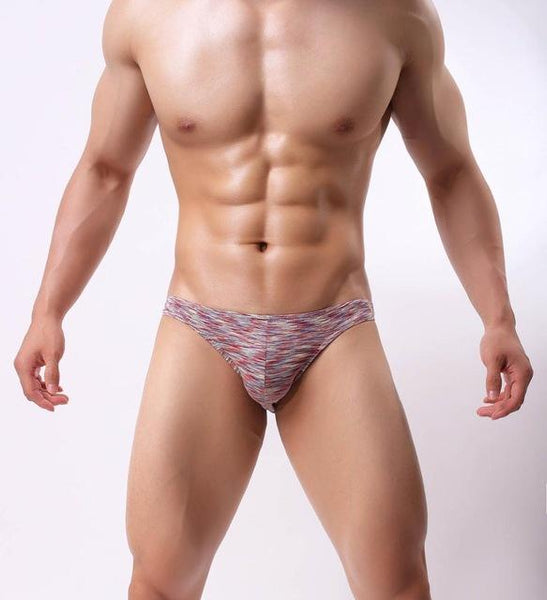Sexy Men's Breathable Soft Cotton Hips Up Briefs Underwear Underpants - SolaceConnect.com