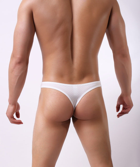 Sexy Men's Babysbreath Fabric Briefs Bikini G-string Thong Jocks - SolaceConnect.com