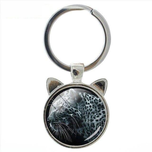 Family Affection Labrador Wolf Animal Exquisite Workmanship Art Keychain - SolaceConnect.com