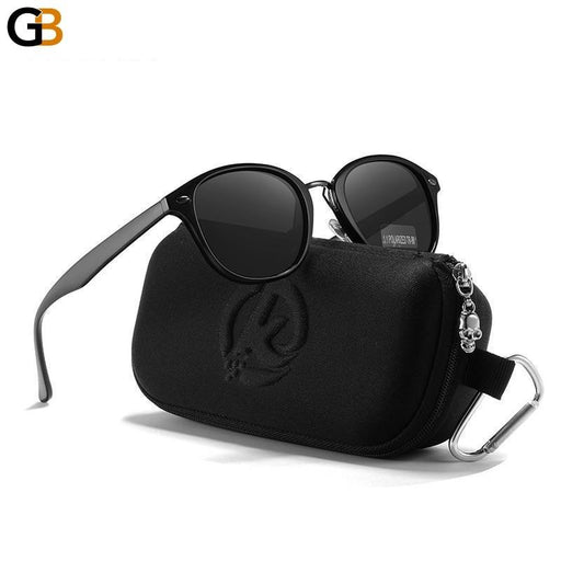 Durable Lightweight TR90 Square Polarized Sunglasses for Women and Men - SolaceConnect.com