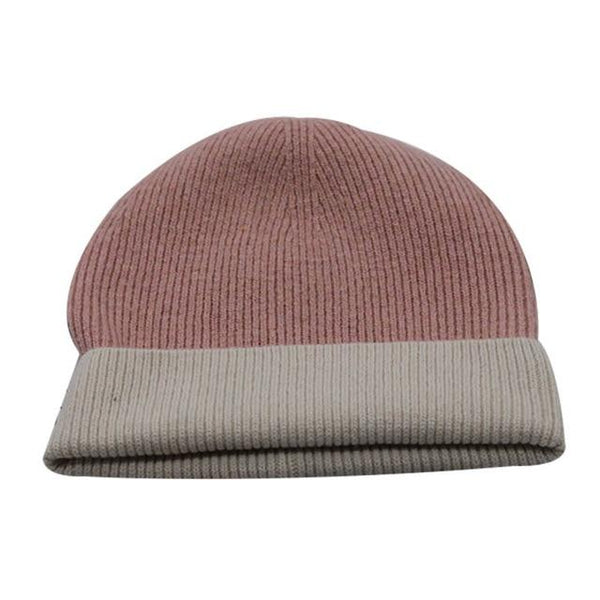 Men And Women Winter Wool Hat Fashion Simple Set-up Casual Warm Straight Tube Hat Japanese Wind - SolaceConnect.com