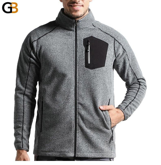 Men's Thin Military Thermal Fleece Army Green Jackets for Winter - SolaceConnect.com