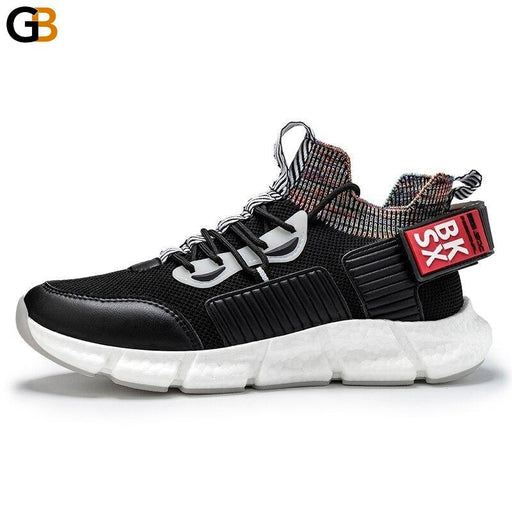 Fashion Street Style Light Men Sneakers Spring Autumn Breathable High Elasticity Adult Casual - SolaceConnect.com