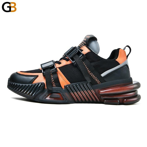 Comfortable Men Chunky Sneakers Fashion Breathable Height Increasing Adult Male Casual Shoes - SolaceConnect.com