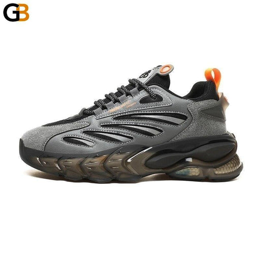 Fashion Street Style High Elasticity Men Chunky Sneakers Spring Autumn Breathable Adult Man Casual - SolaceConnect.com