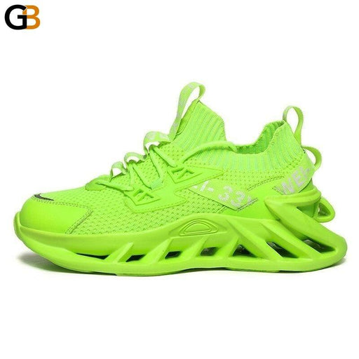 Fashion High Elasticity Light Men Chunky Sneakers Spring Autumn Soft Blade Sole Adult Man Casual - SolaceConnect.com