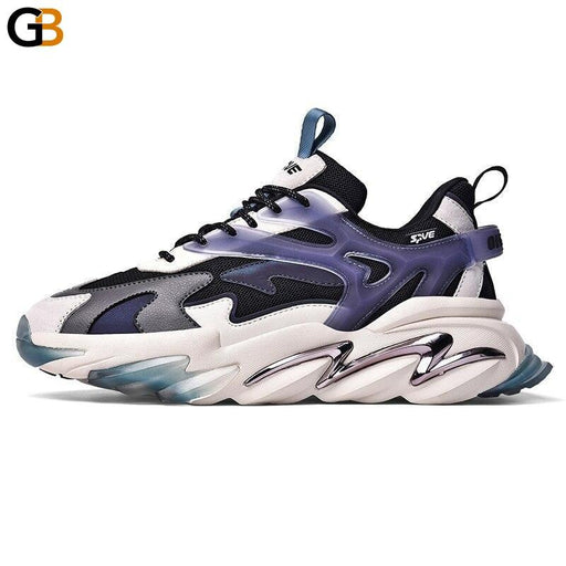 Fashion Street Style Comfortable Men's Chunky Sneakers Spring Autumn Breathable Adult Man Casual - SolaceConnect.com