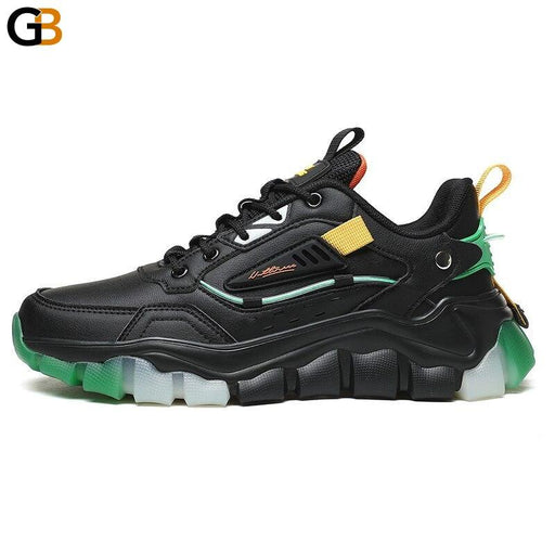 Fashion Breathable Spring Autumn Men Chunky Sneakers Comfortable Height Increasing Adult Casual - SolaceConnect.com