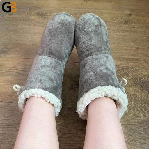 Women Indoor Slippers Warm Plush Lovers Home Slipper Soft Winter Warm House Slippers Velvet Ball - SolaceConnect.com