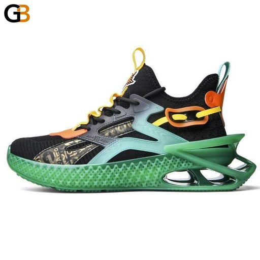 Fashion Breathable Sport Men Chunky Sneakers Spring Comfortable Adult Male Casual Shoes Plus Size - SolaceConnect.com