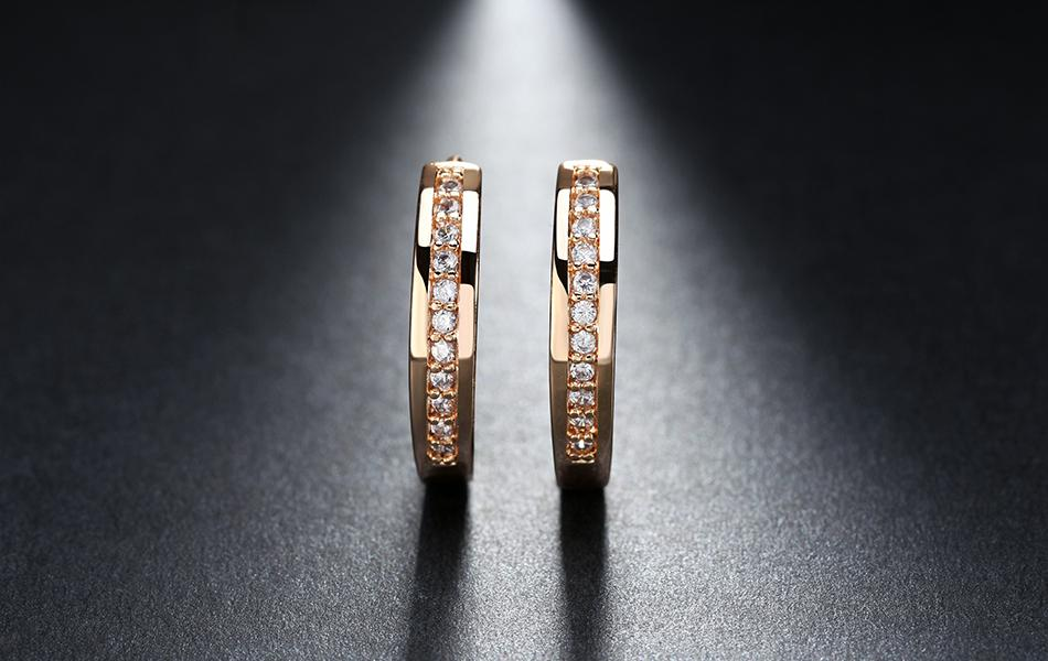 95152c5d3 ... Effie Queen Cute Romantic Style Earrings Jewelry Gold -color Paved with  AAA Cubic Zircon Stud ...