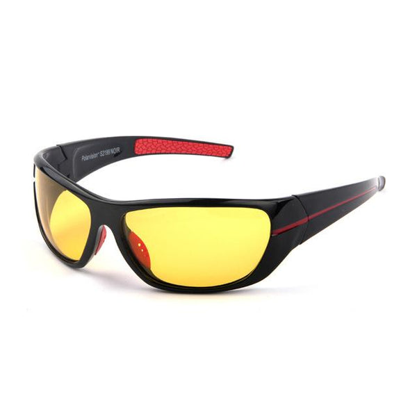 Men's Designer Polarized Enhanced Night Vision Sunglasses for Night Driving - SolaceConnect.com