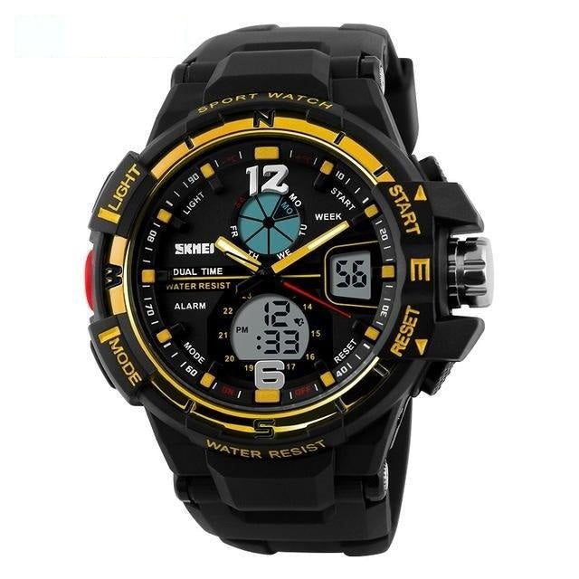 Casual Reloj Fashion Men's LED Digital Sports Watch Masculino Clock - SolaceConnect.com