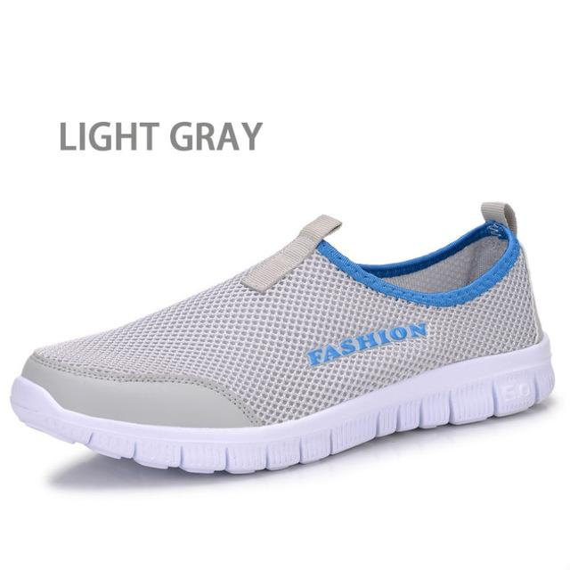 Men's Summer Style Lazy Breathable Mesh Network Foot Wrapping Shoes - SolaceConnect.com