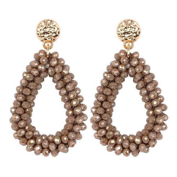 earrings For aretes largos baroque big long earrings for women pendantes christmas drop dangling - SolaceConnect.com