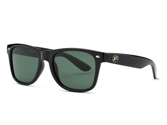 Polarized Sunglasses for Men with Thick Acetate Frame & Polaroid Lens - SolaceConnect.com