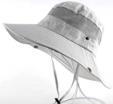 Men's Bob Summer Wide Brim UV Protection Bucket Hats for Outdoor Fishing - SolaceConnect.com