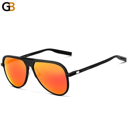 Unisex Classic Aluminum Sunglasses with HD Polarized UV400 Mirror Lens - SolaceConnect.com