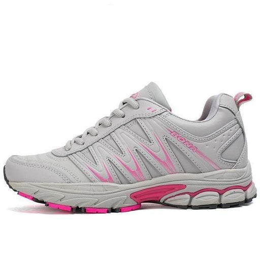 Women's Lace Up Sports Shoes for Outdoor Jogging Walking & Athletic Use - SolaceConnect.com