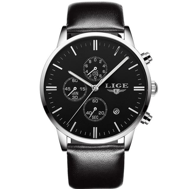 Men's Watches Top Luxury Military Sport Luminous Business Quartz-Watch - SolaceConnect.com